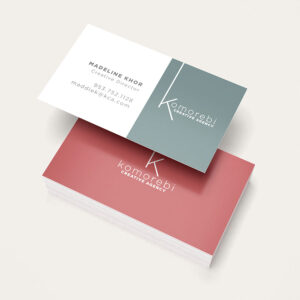 Business card_front_back_side